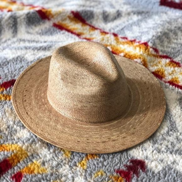 291186574 Lack of Color Palma Fedora Straw Hat Panama S/M